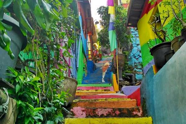 Destinasi Wisata Unik di Kampung Pelangi Kota Semarang