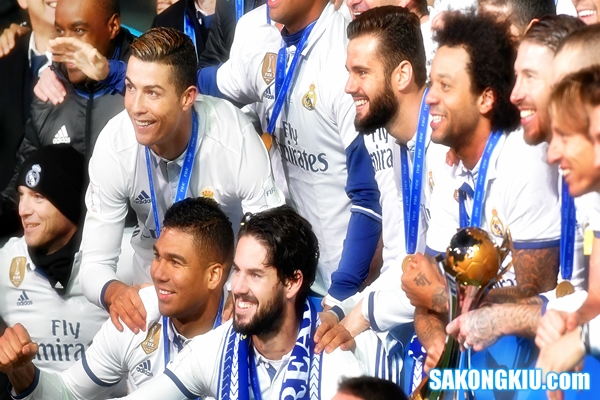 Real Madrid Juara FIFA Club World Cup UAE 2017