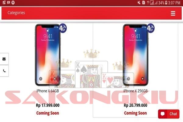 iPhone X Resmi Indonesia