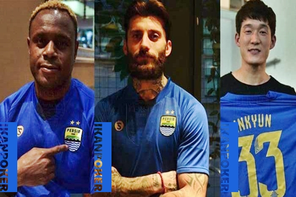 Pemain Asing Persib Bandung Calon Bintang di Piala Presiden 2018