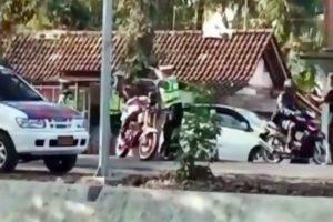 Yamaha RX King Lolos Razia Polisi