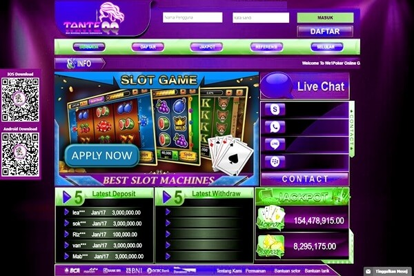 Slot Game Poker Slots