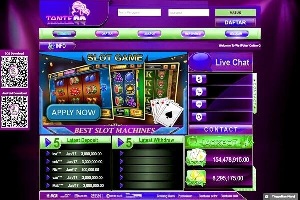 Slot Game Poker Slots