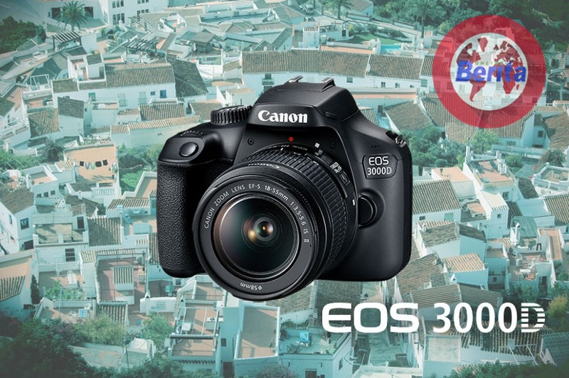 Canon EOS 3000D Kamera DSLR Termurah