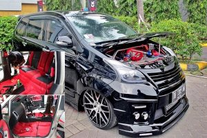 Modifikasi Mobil Toyota All New Avanza Veloz