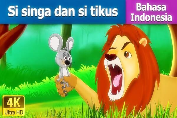 Dongeng Anak Singa dan Tikus