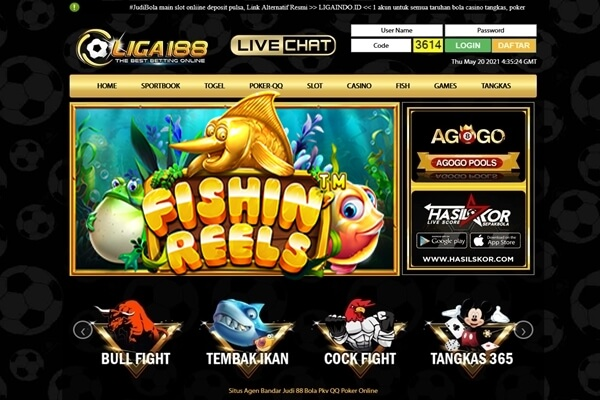 Situs Judi Slot Online Gacor Hari Ini