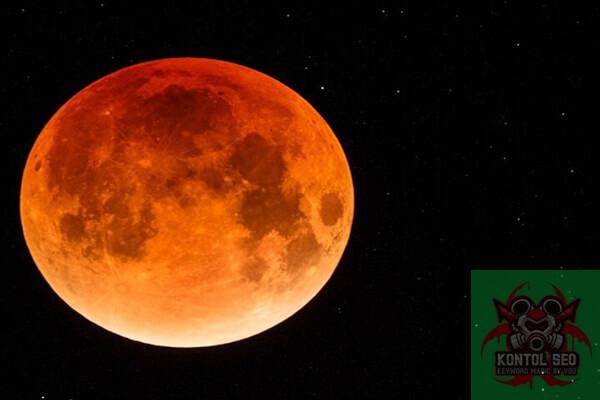Video Super Blood Moon
