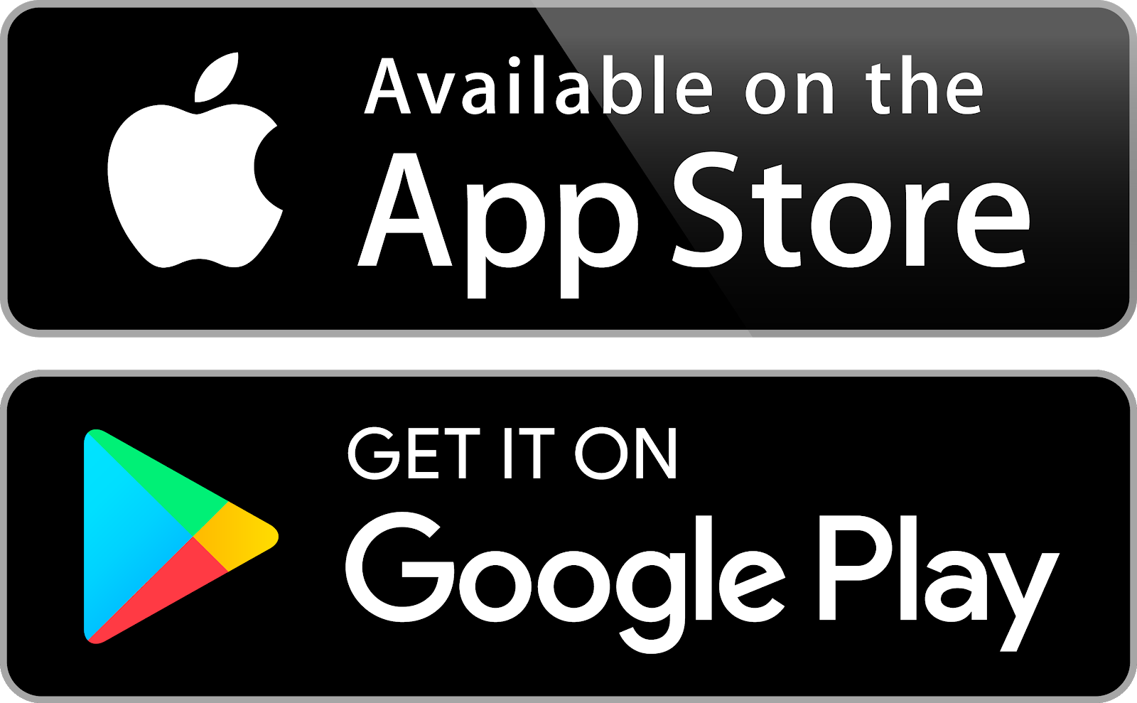 Icons App Store Google Play