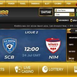 SC Bastia vs Nimes Olympique